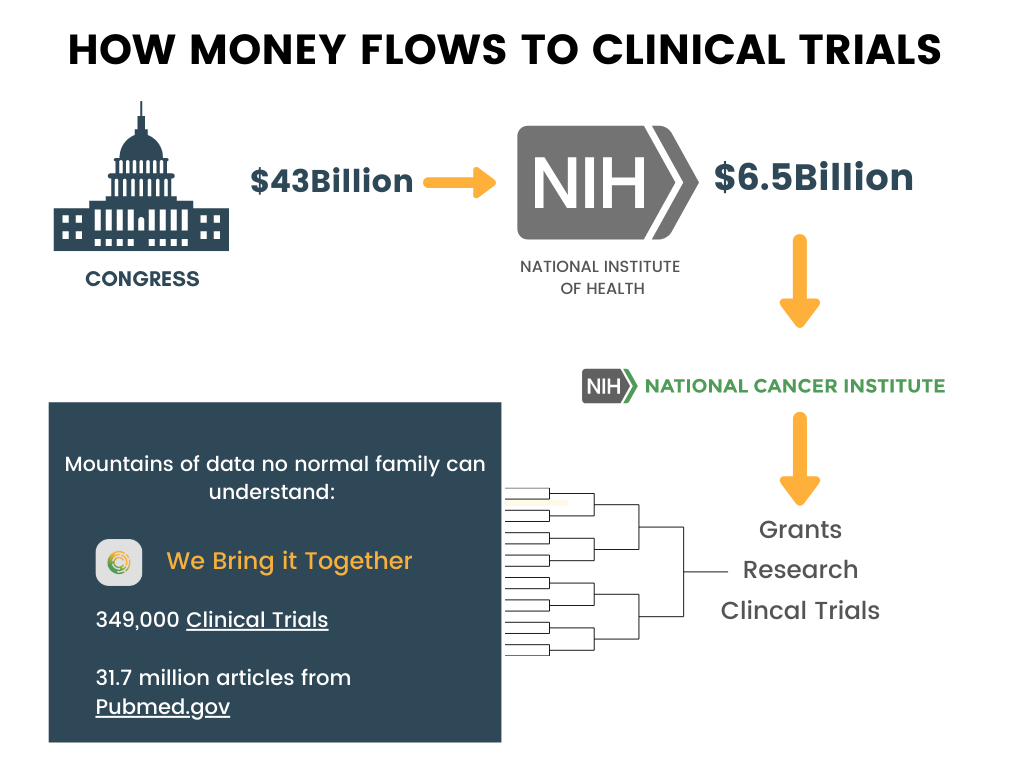 How Money Flows to Clinical Trials